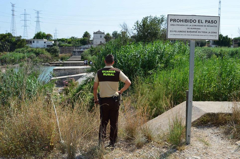 El Consorci riu Millars realitza un informe sobre els punts negres per al bany ubicats al Paisatge Protegit