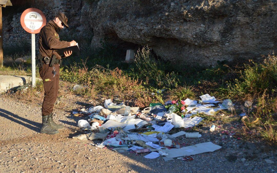 Abandonen un abocament il·legal al Paisatge Protegit de la Desembocadura del riu Millars amb informació personal