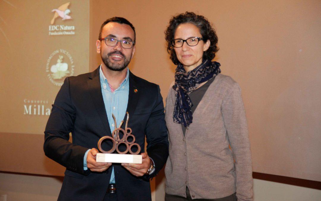 El Consorci gestor del Paisatge Protegit de la Desembocadura del riu Millars guanya el premi Biodiversitat i Societat