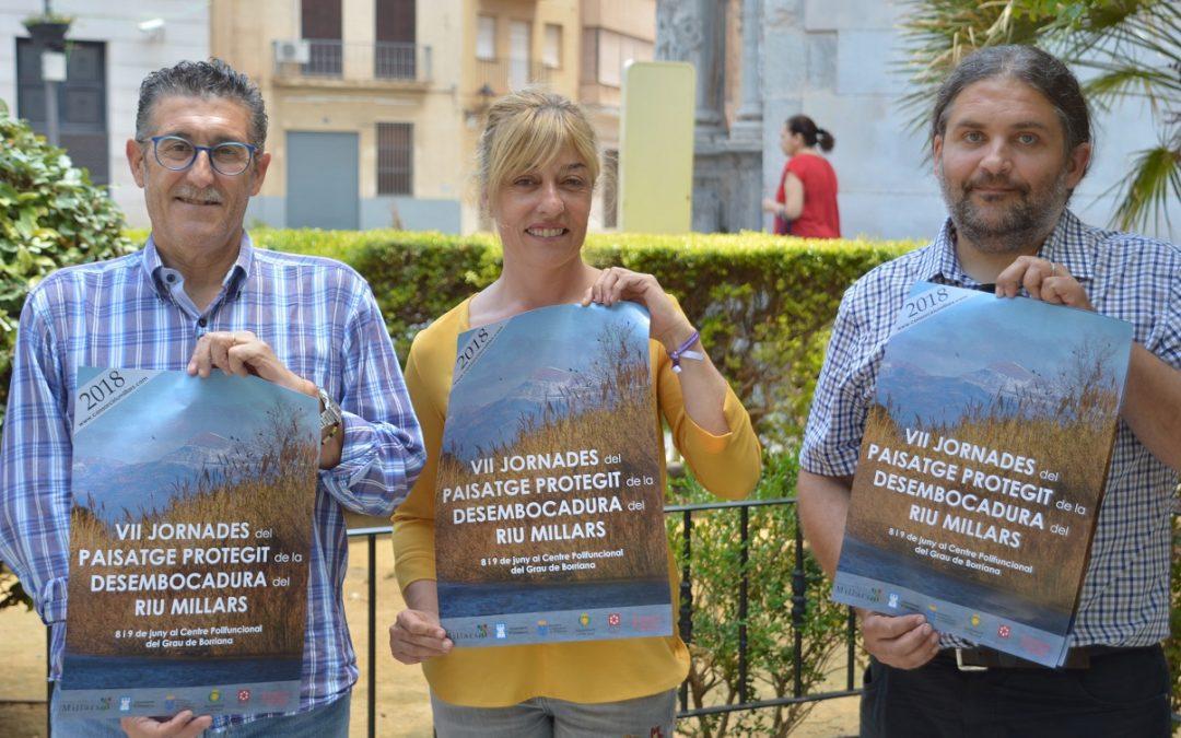 El consorci Riu Millars presenta el programa de les VII Jornades del Paisatge Protegit de la Desembocadura