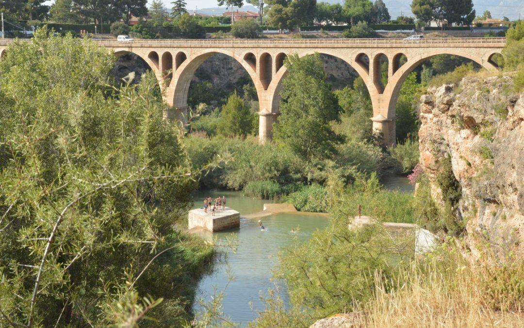 El Consorci del Paisatge Protegit de la Desembocadura del riu Millars alerta de la perillositat de banyar-se en assuts i séquies