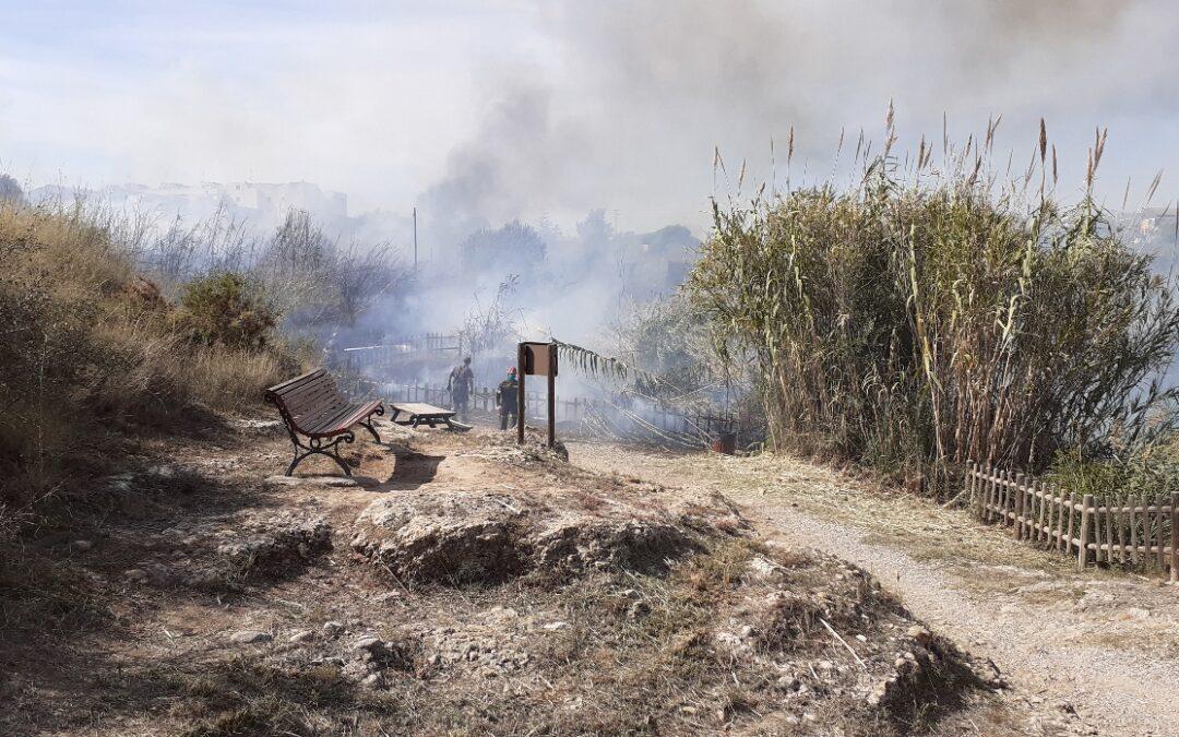 El Consorci gestor del Paisatge Protegit de la Desembocadura del riu Millars lamenta la pèrdua del bomber forestal que va participar en l'extinció d'un incendi a l'espai fluvial