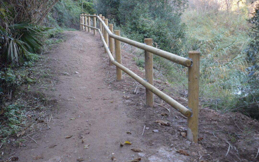 El Consorci gestor del Paisatge Protegit de la Desembocadura del riu Millars ha iniciat la reposició de l'equipament deteriorat de la zona fluvial