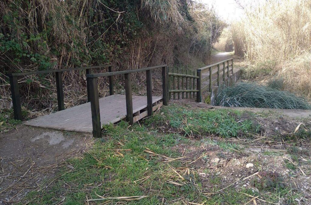 El Consorci gestor del Paisatge Protegit de la Desembocadura del riu Millars continua amb la reposició de l'equipament deteriorat